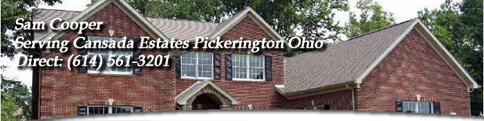 Cansada Estates Pickerington Ohio