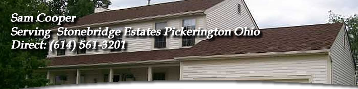 Stonebridge Estates Pickerington Ohio